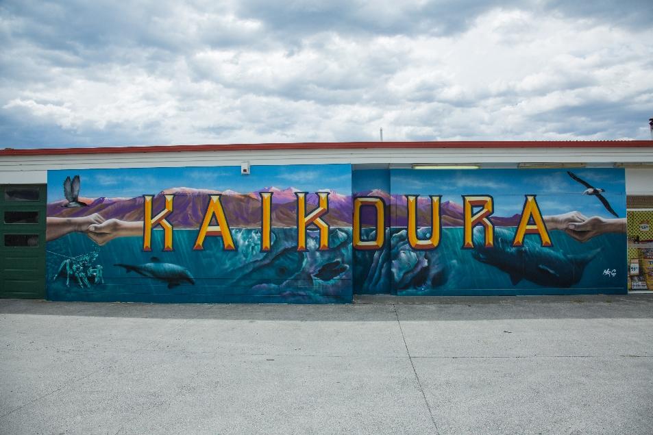 Bei der Einfahrt in Kaikoura kam uns etwas ziemlich bekannt vor 😉😉😉