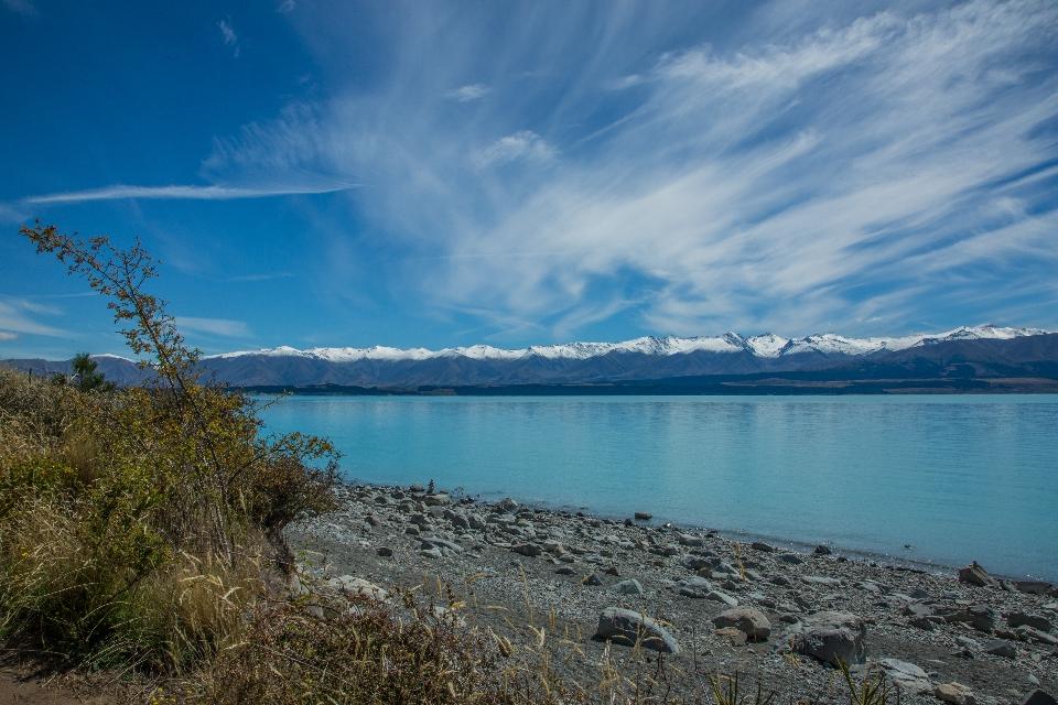 ... und weiter zum nicht minder schönen Lake Pukaki ...