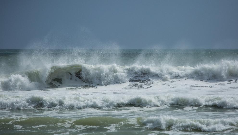 Später brauste der Wind und brachte das Wasser zum Brodeln