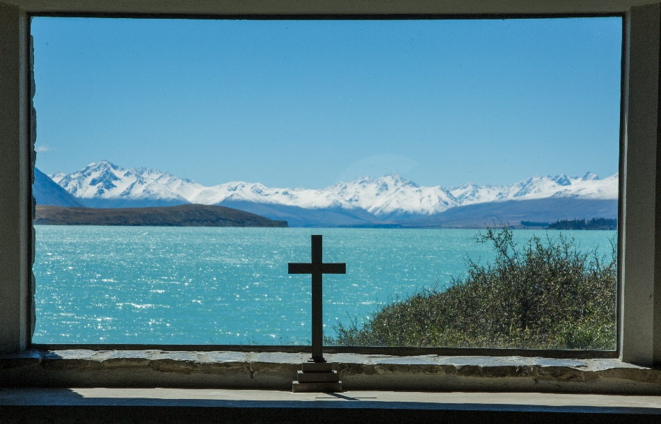 ... wo der liebe Gott eine solche Aussicht genießt.