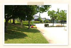 徒歩2分の所にある公園
