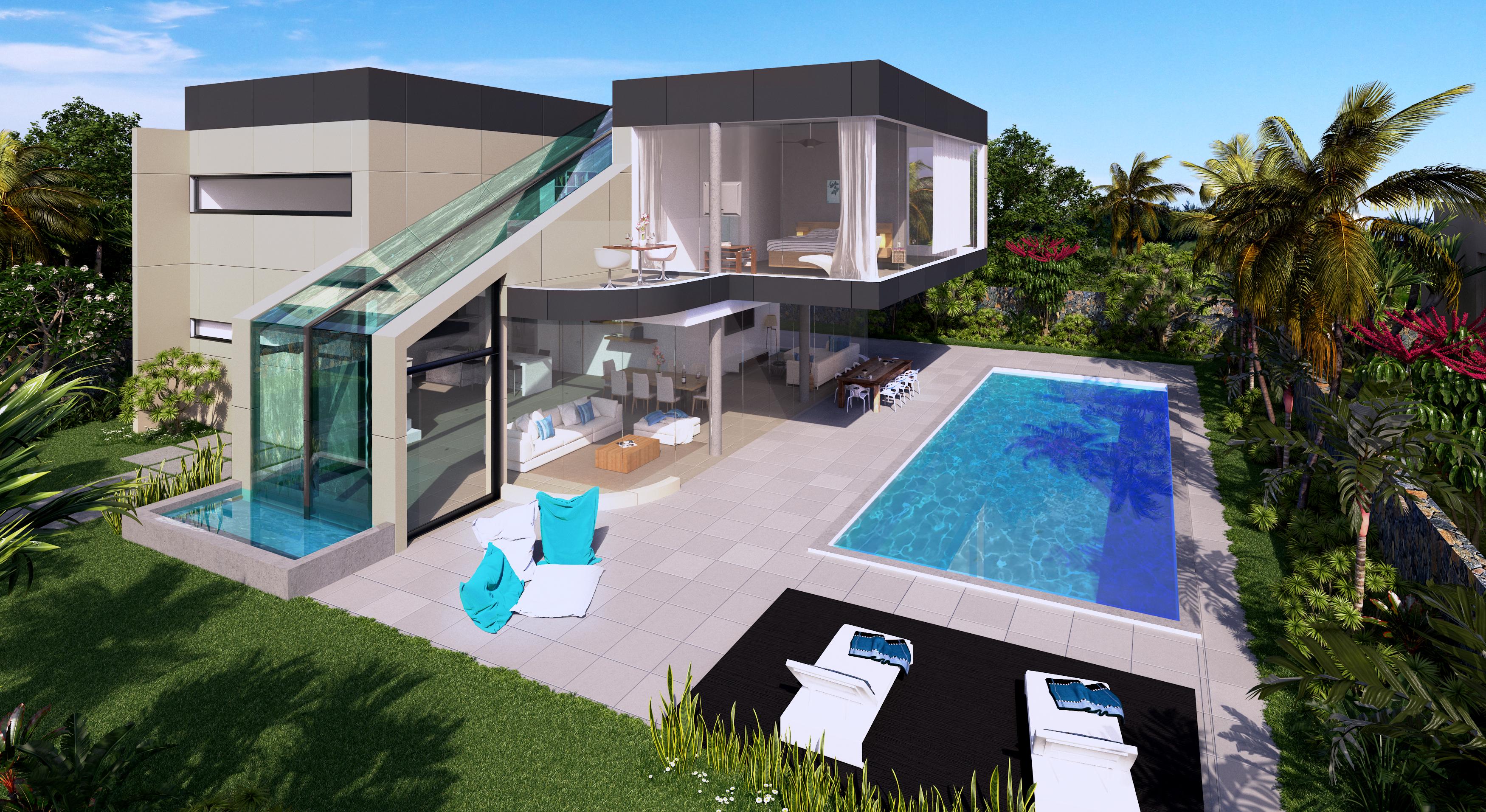 Nouveau Programme immobilier PDS villas Le Mont Olympe  ILE MAURICE