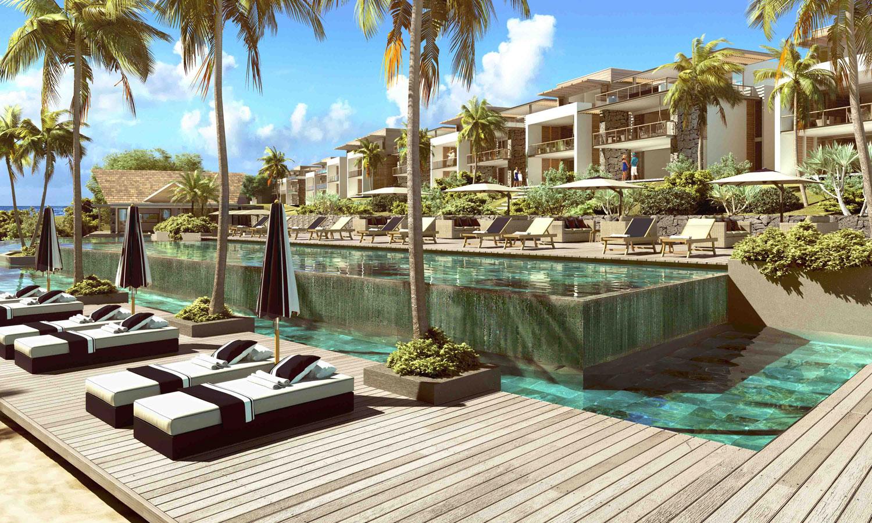 nouvelle résidence d'appartements et villas PDS achat immobilier proche de GRAND BAIE  ILE MAURICE