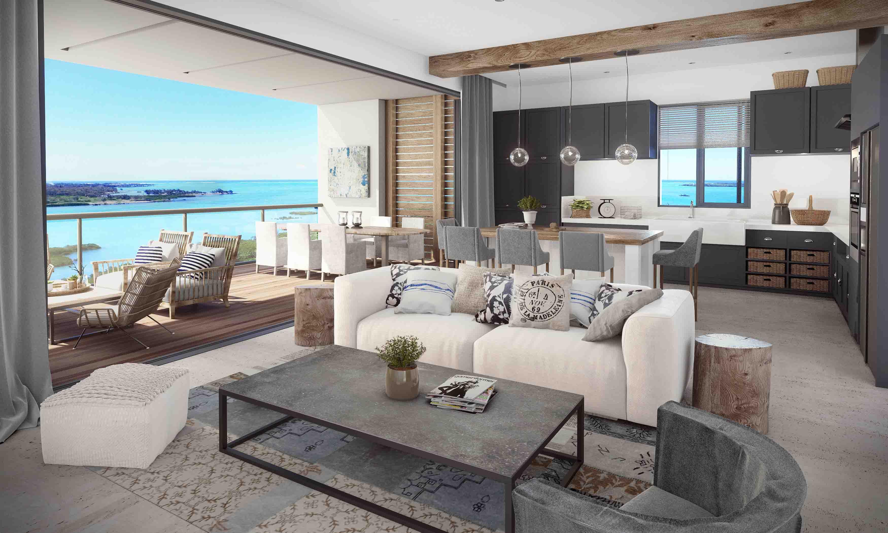 nouvelle résidence d'appartements et villas SAINT ANTOINE PDS investissement GRAND BAIE  ILE MAURICE