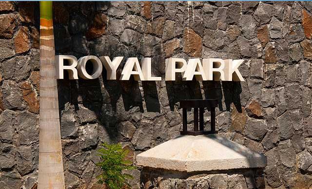 entrée RES ROYAL PARK ILE MAURICE
