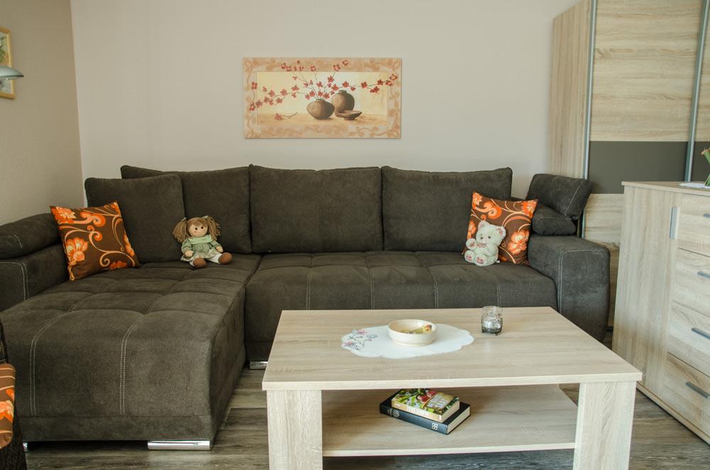 Gästezimmer, Wohnbereich, Schlafcouch, Bild 5