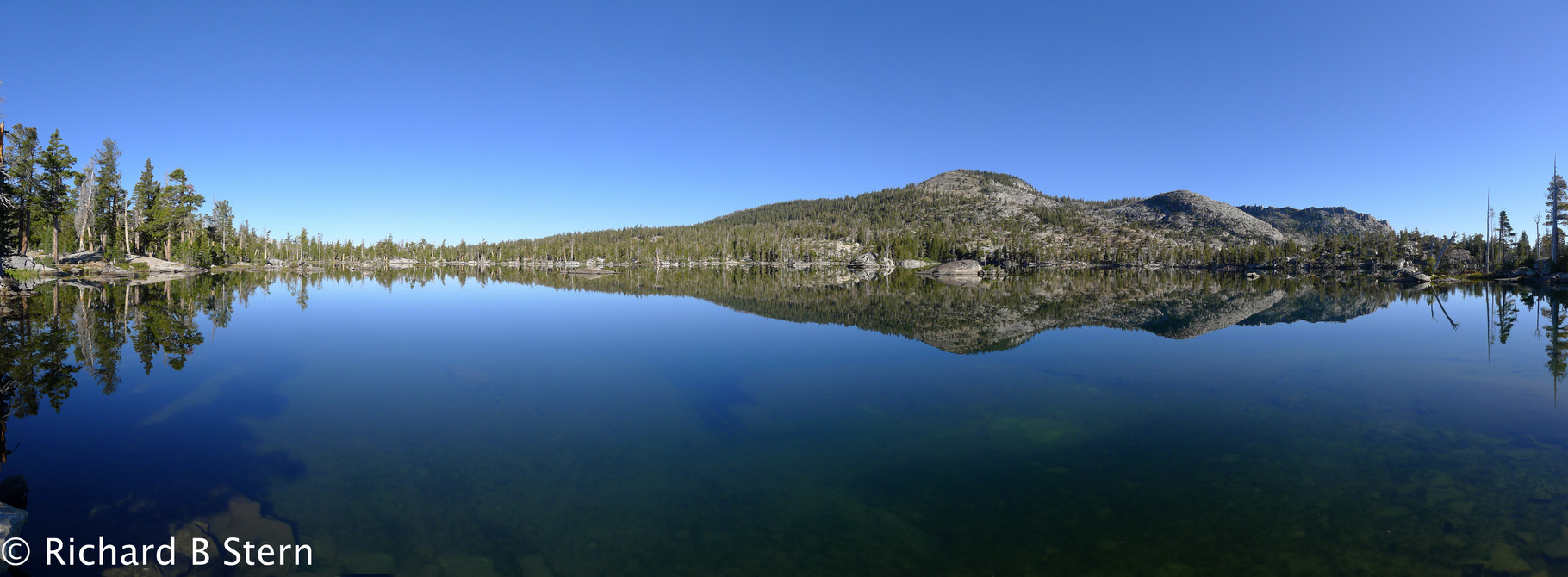 Middle Velma Lake-Desolation Wilderness Area