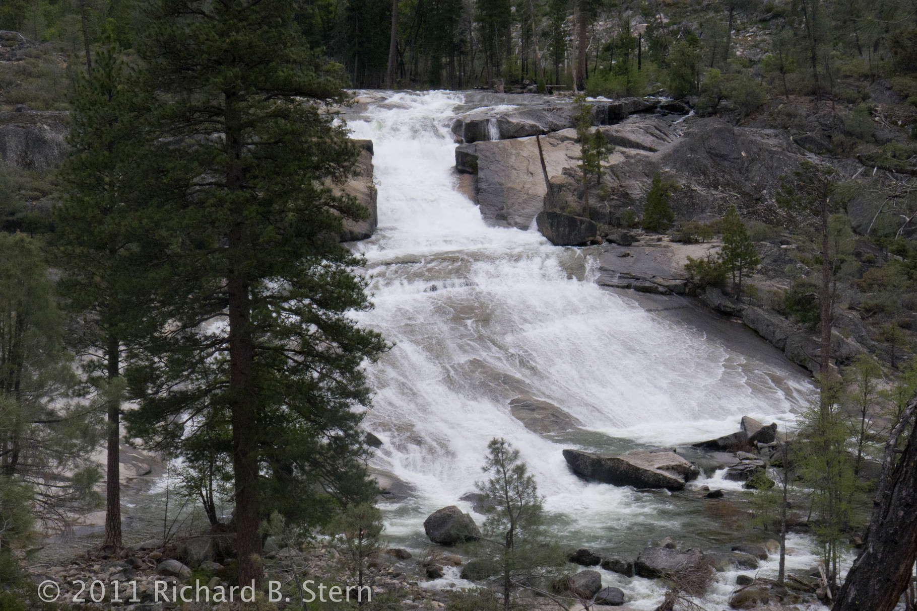 Rancheria Falls Backpack Trip-Yosemite National Park
