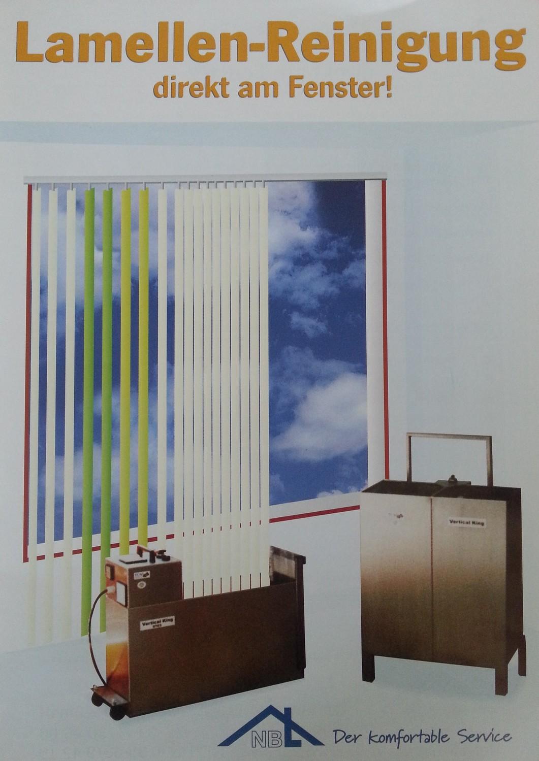 lamellenreinigung direkt am fenster nbl sprembergs webseite. Black Bedroom Furniture Sets. Home Design Ideas