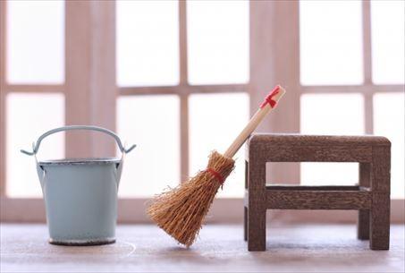こまめな掃除を心がける