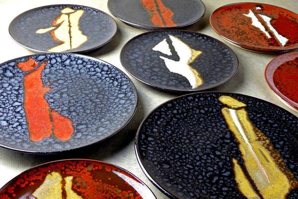 assiette artisanale ceramique
