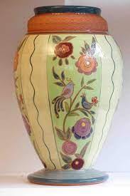 vase ceramique fleuri
