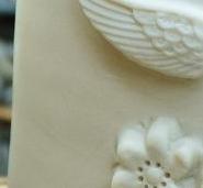 détail porcelaine agathe airline