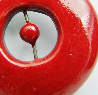perle céramique détail de simplement terre