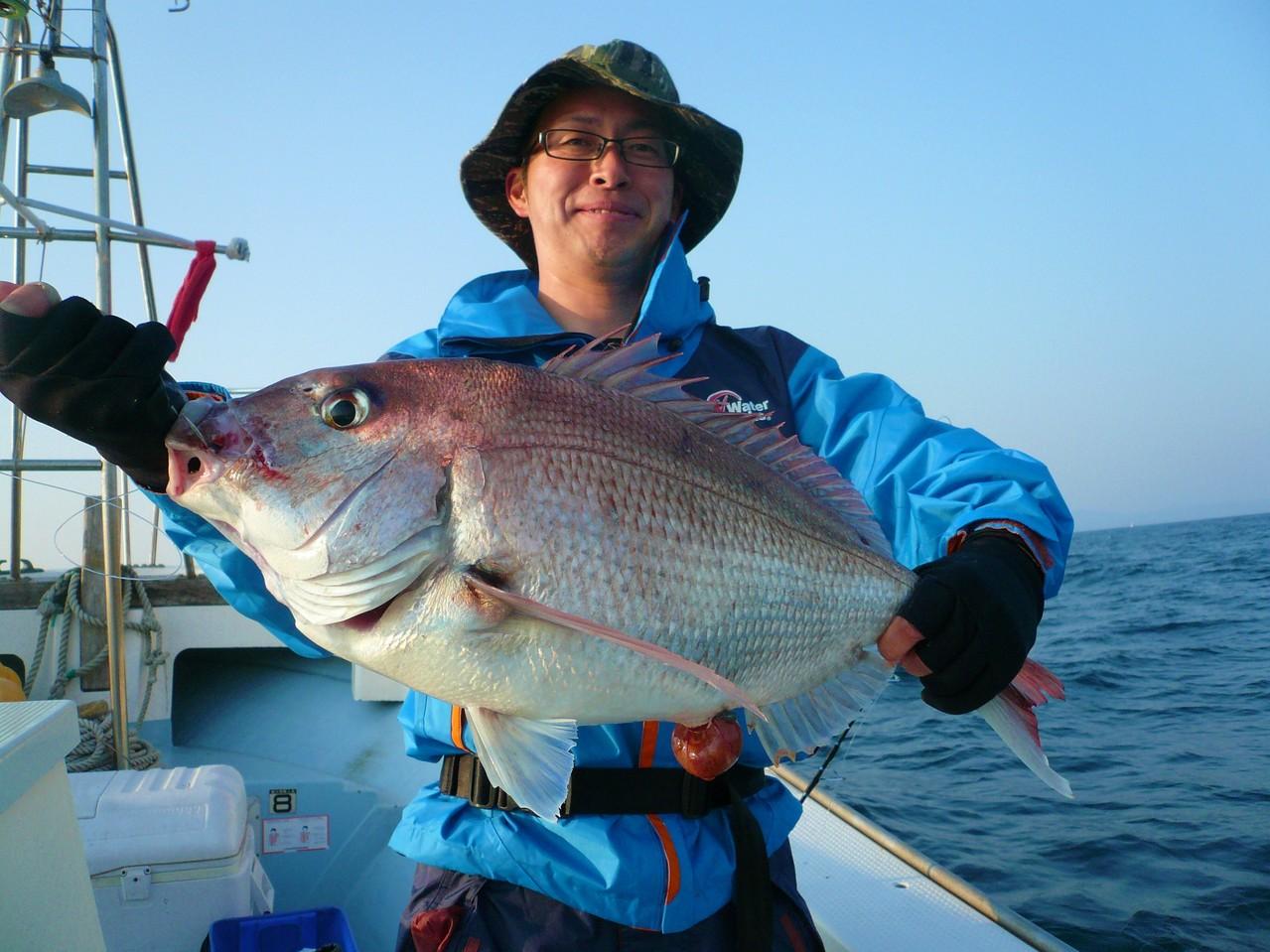 5月5日三界のポイント 須賀様 大きい鯛ゲット