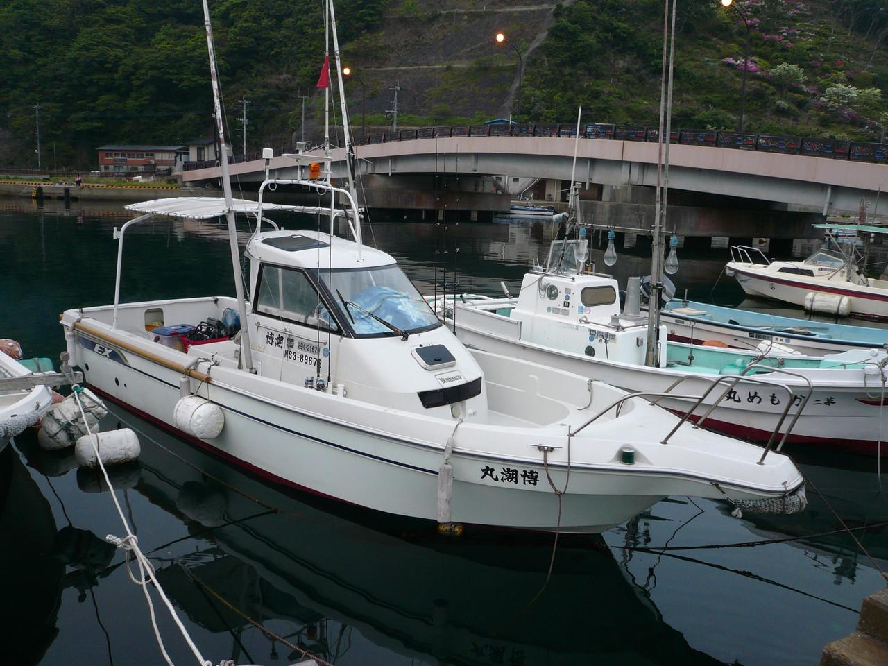 5月4日 レンタルボート博潮丸 出港準備 OK