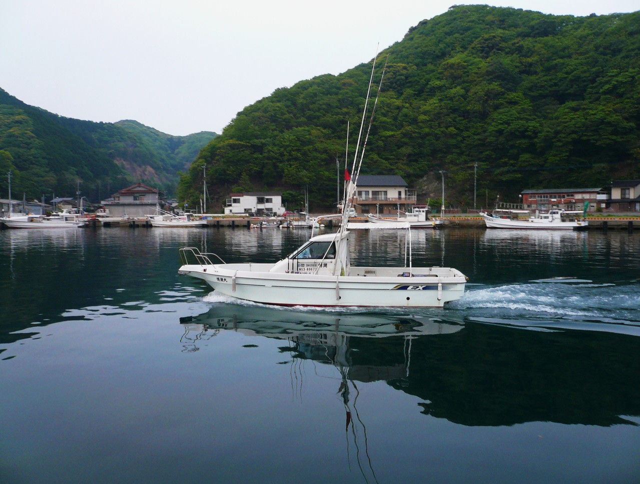 5月4日 レンタルボート博潮丸 トップで挑戦 大物ヒラマサ期待しています