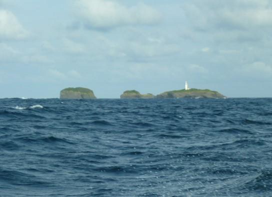 対馬最北端三ツ島灯台