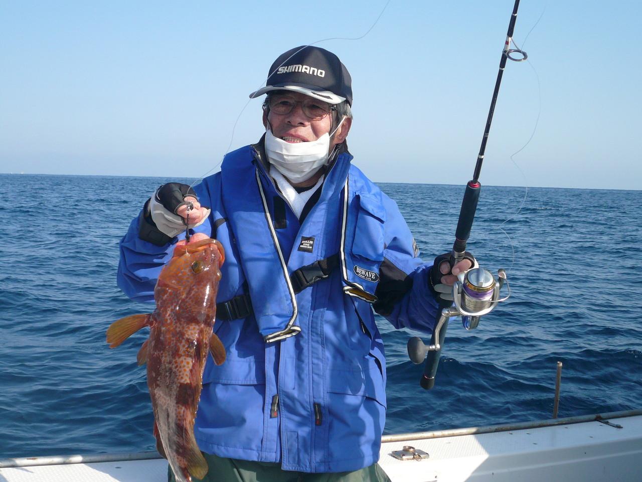 まずますサイズの 美味しい魚ゲットです