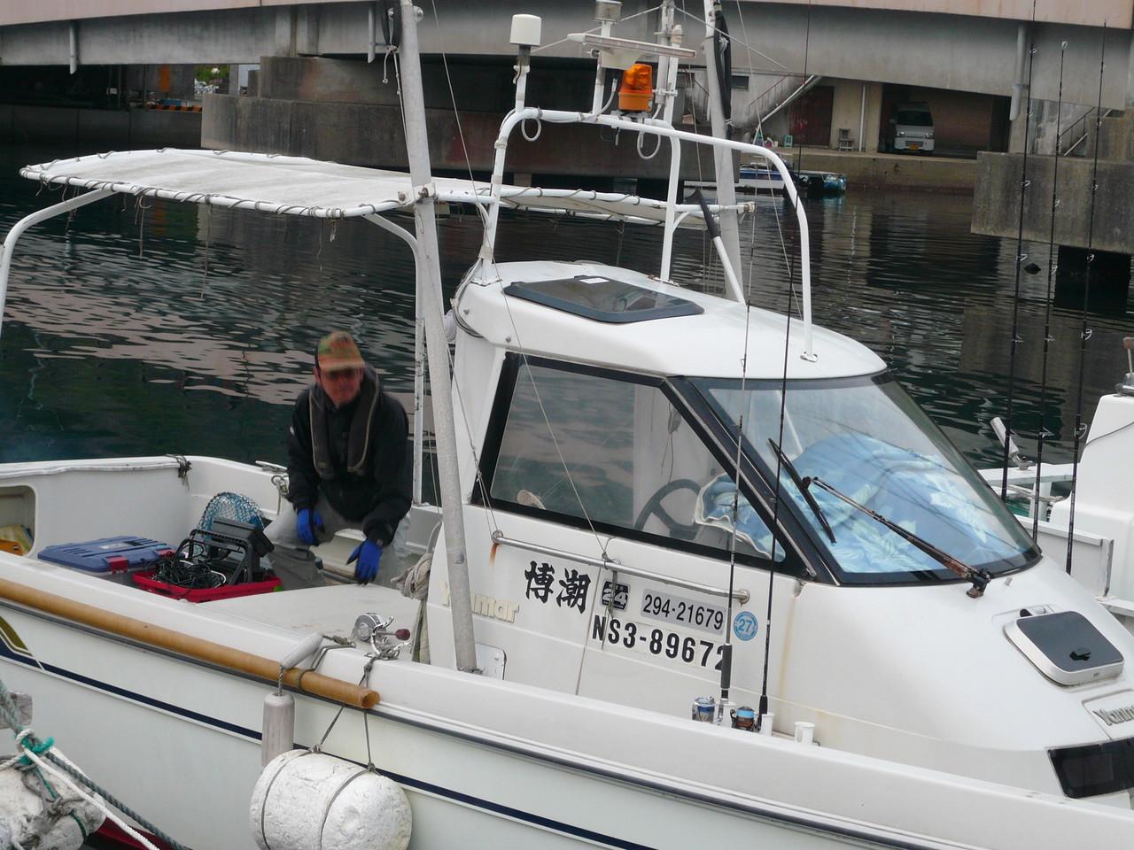 5月4日 レンタルボート博潮丸 岡崎船長