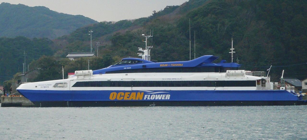 大亜高速海運 オーシャンフラワー