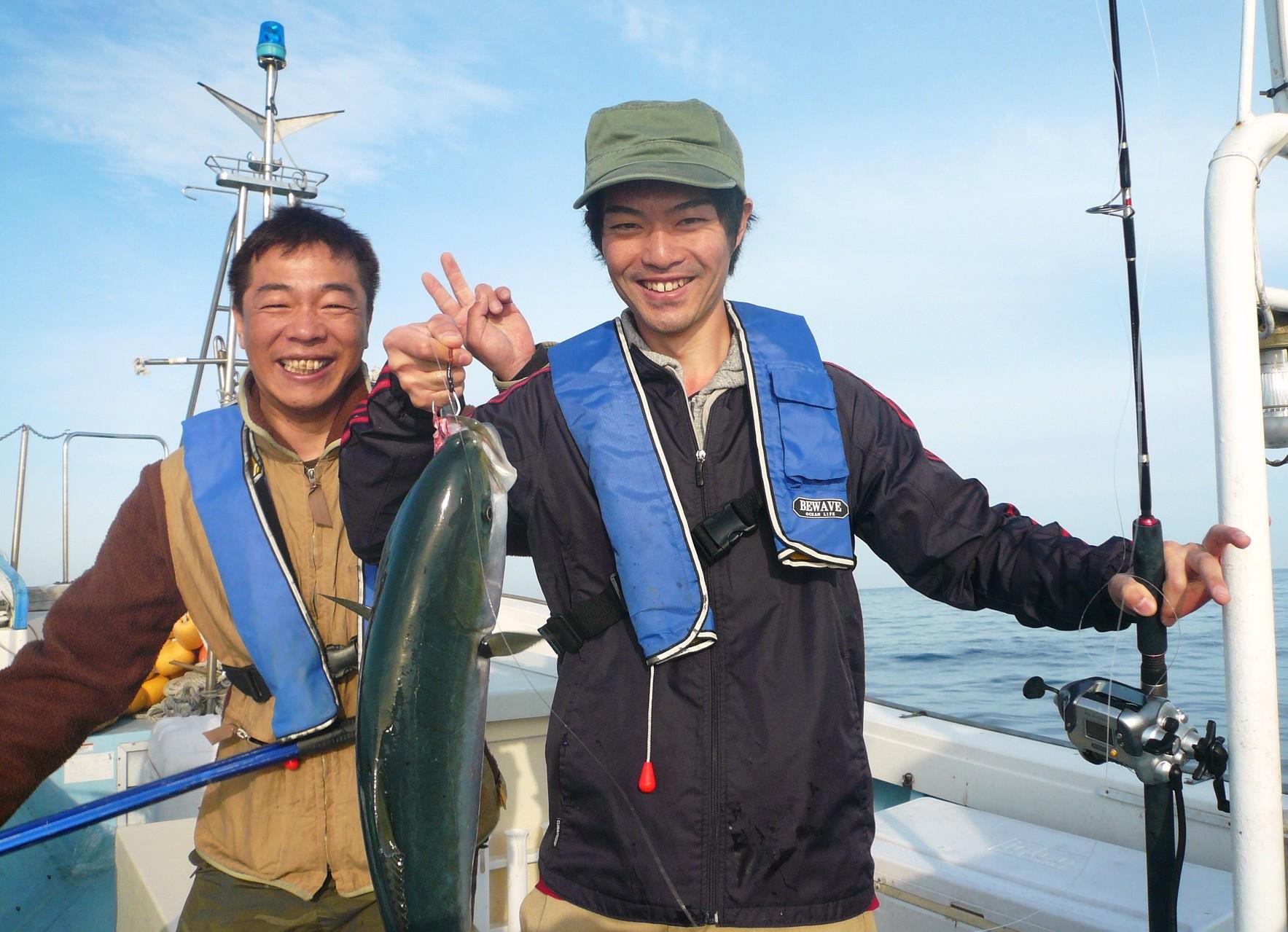 5月4日 ワラサゲットは福田さん 有吉さんもいい笑顔
