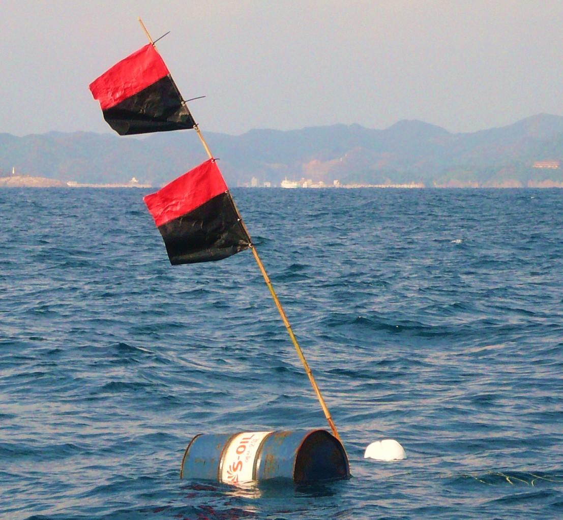 10月29日 韓国からの漂流物