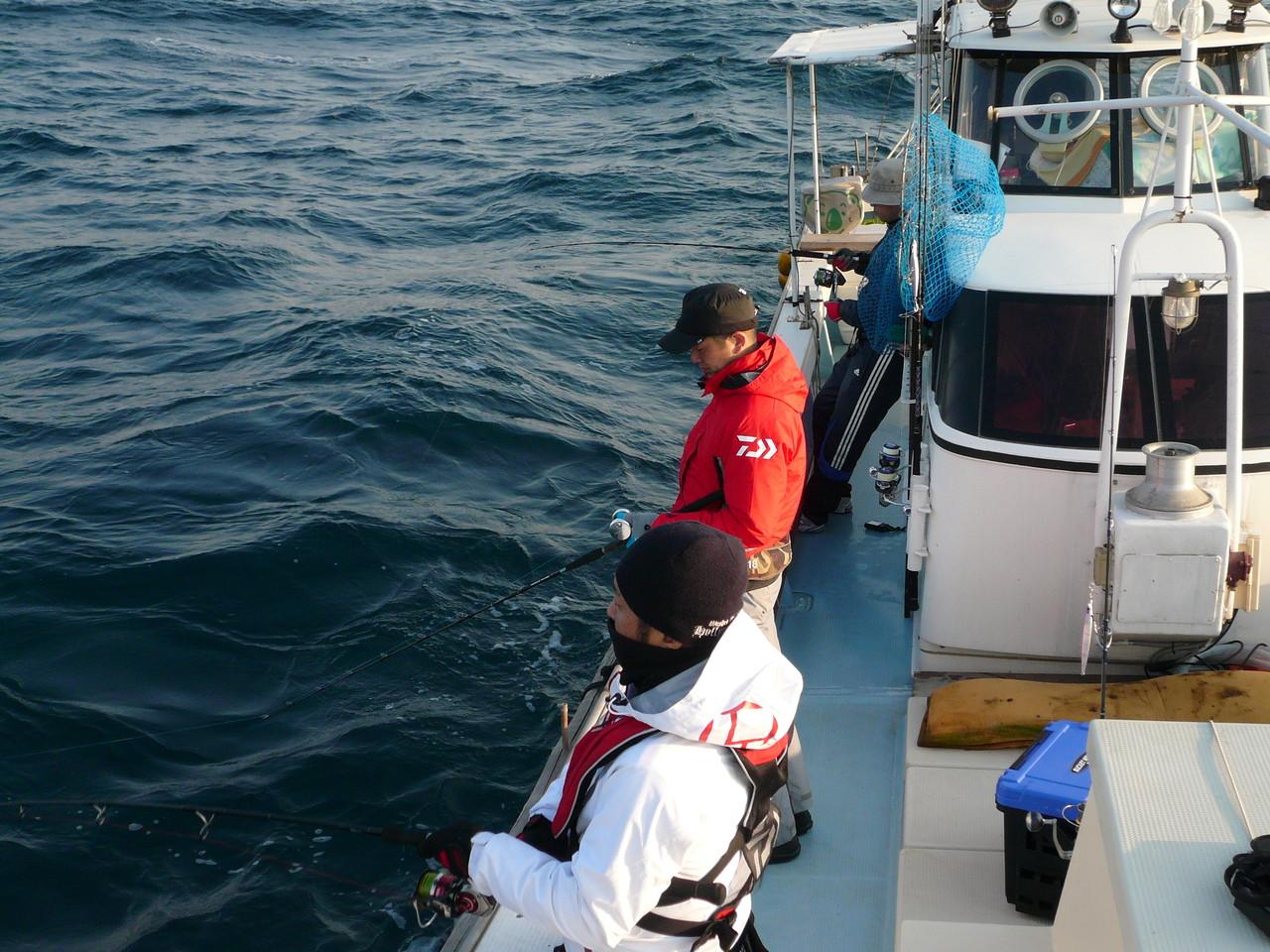4月13日土曜日 準備OK 東京からの国境の海で 挑戦です