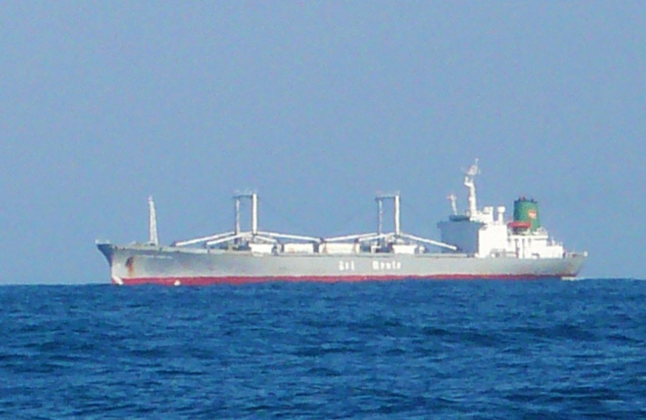 1月11日外国船が又も近くを通過します