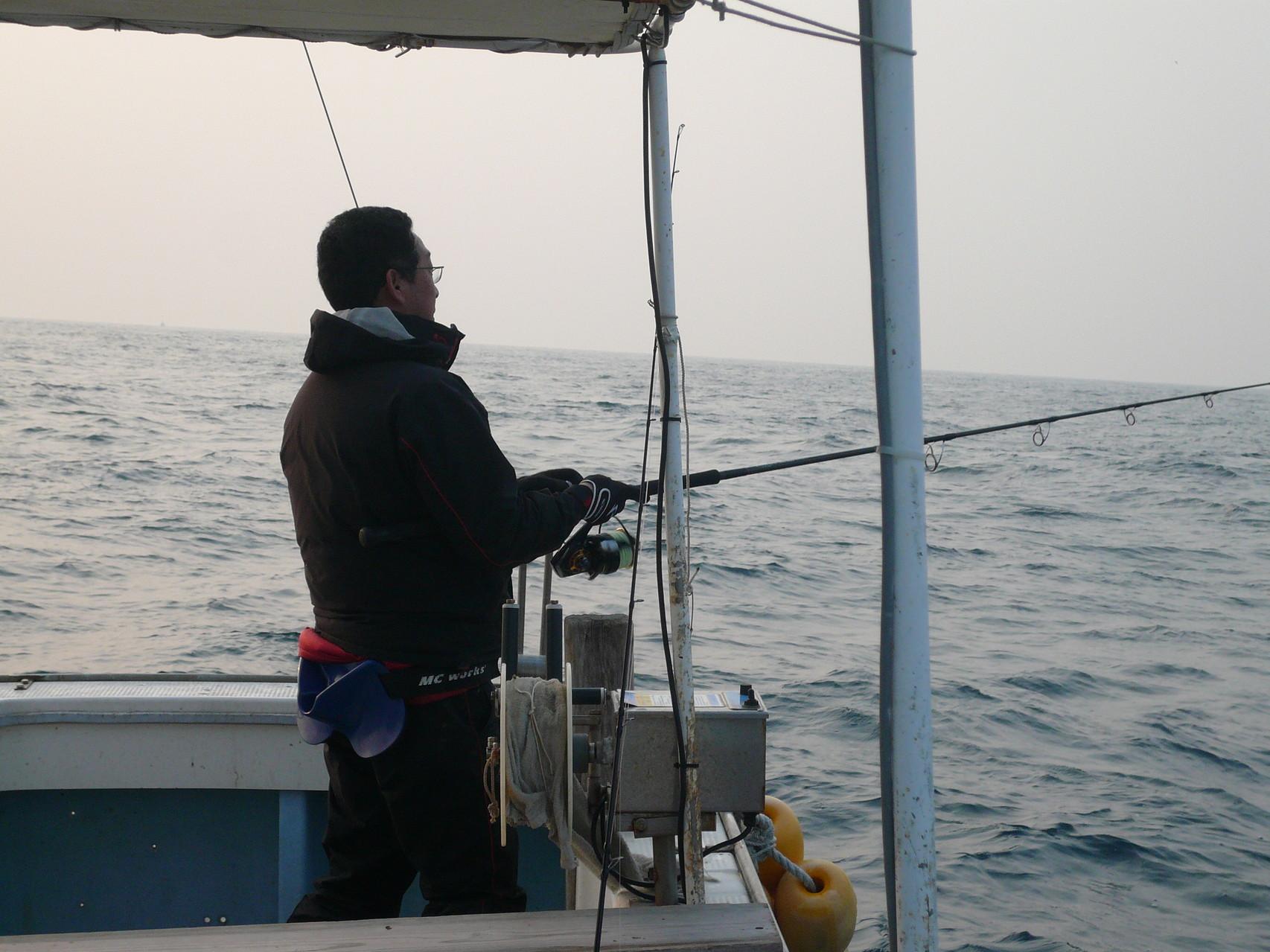 大きいのが ガバット アタリ有り 外れちゃった 潮の動き悪い 食いがいまいち?