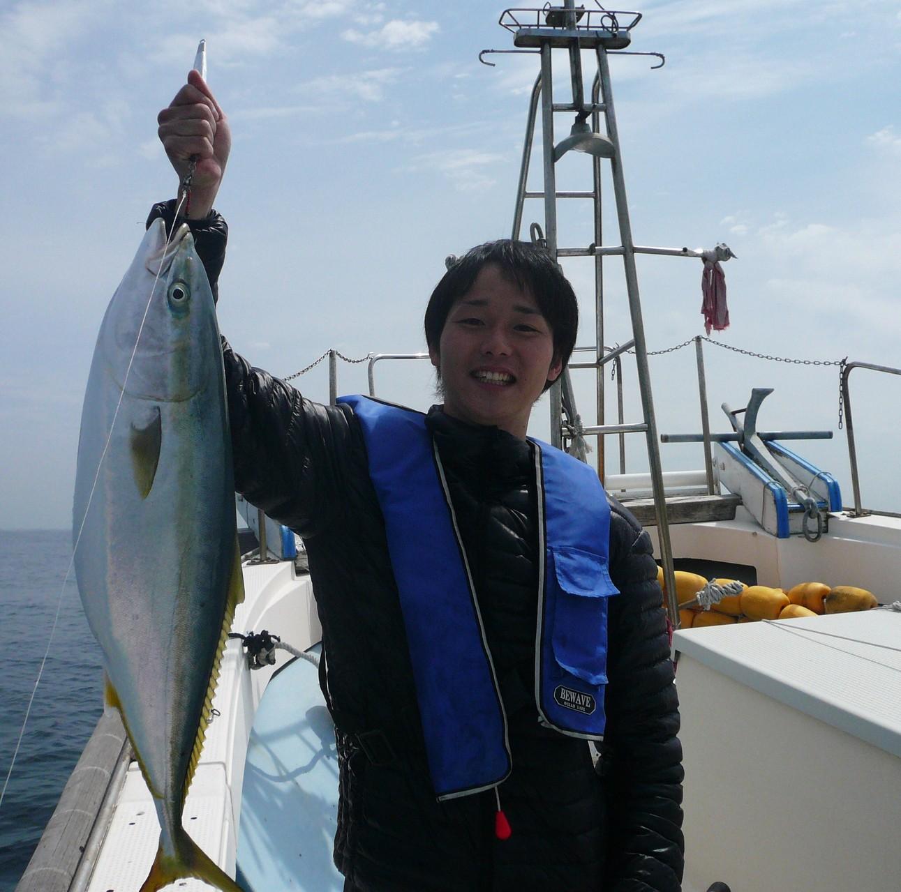 5月4日 バケモン(タイ釣り場)ポイント 松田さん