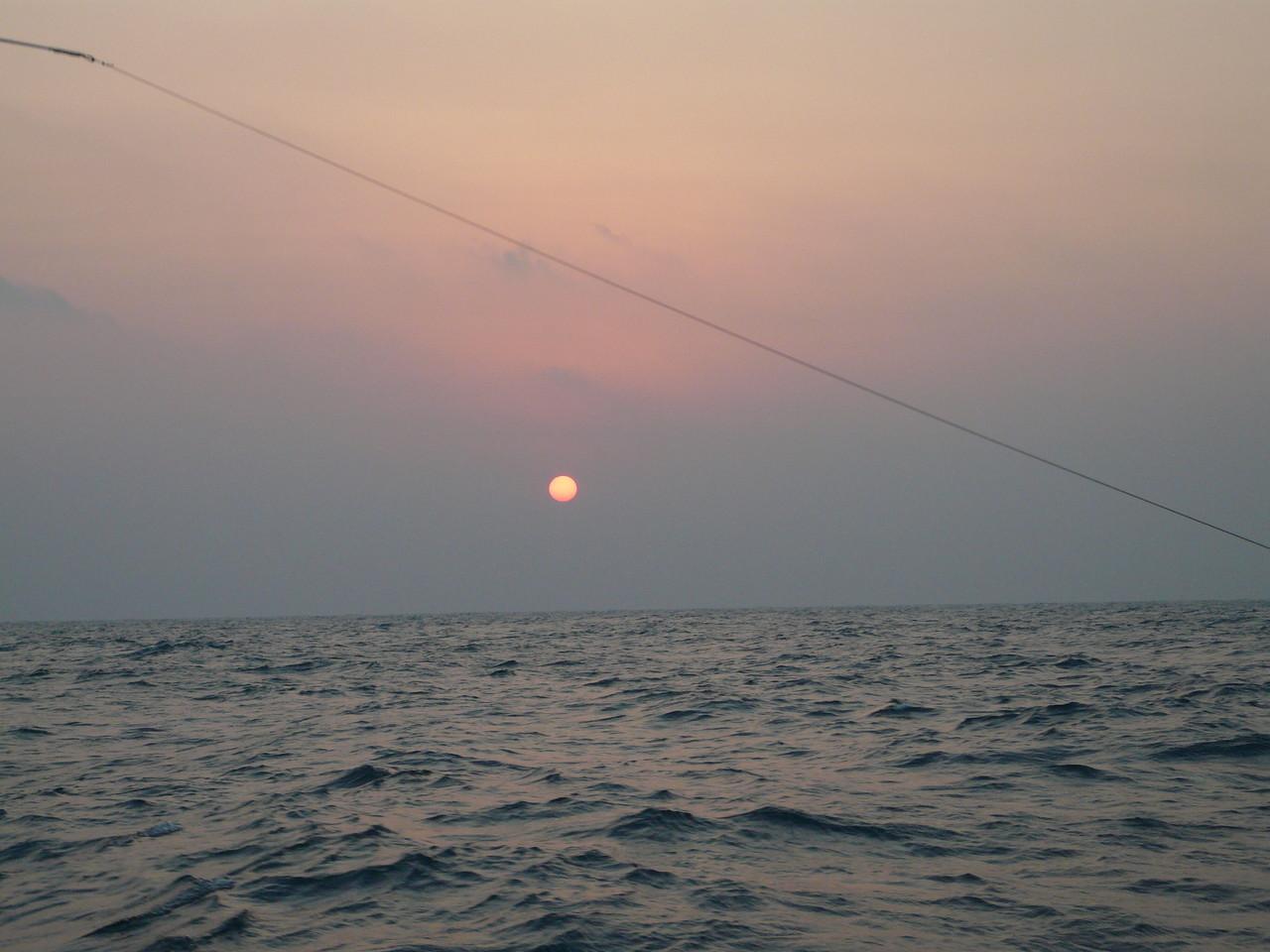 2014年1月6日初釣り 北の風10m 波の高さ0.9m