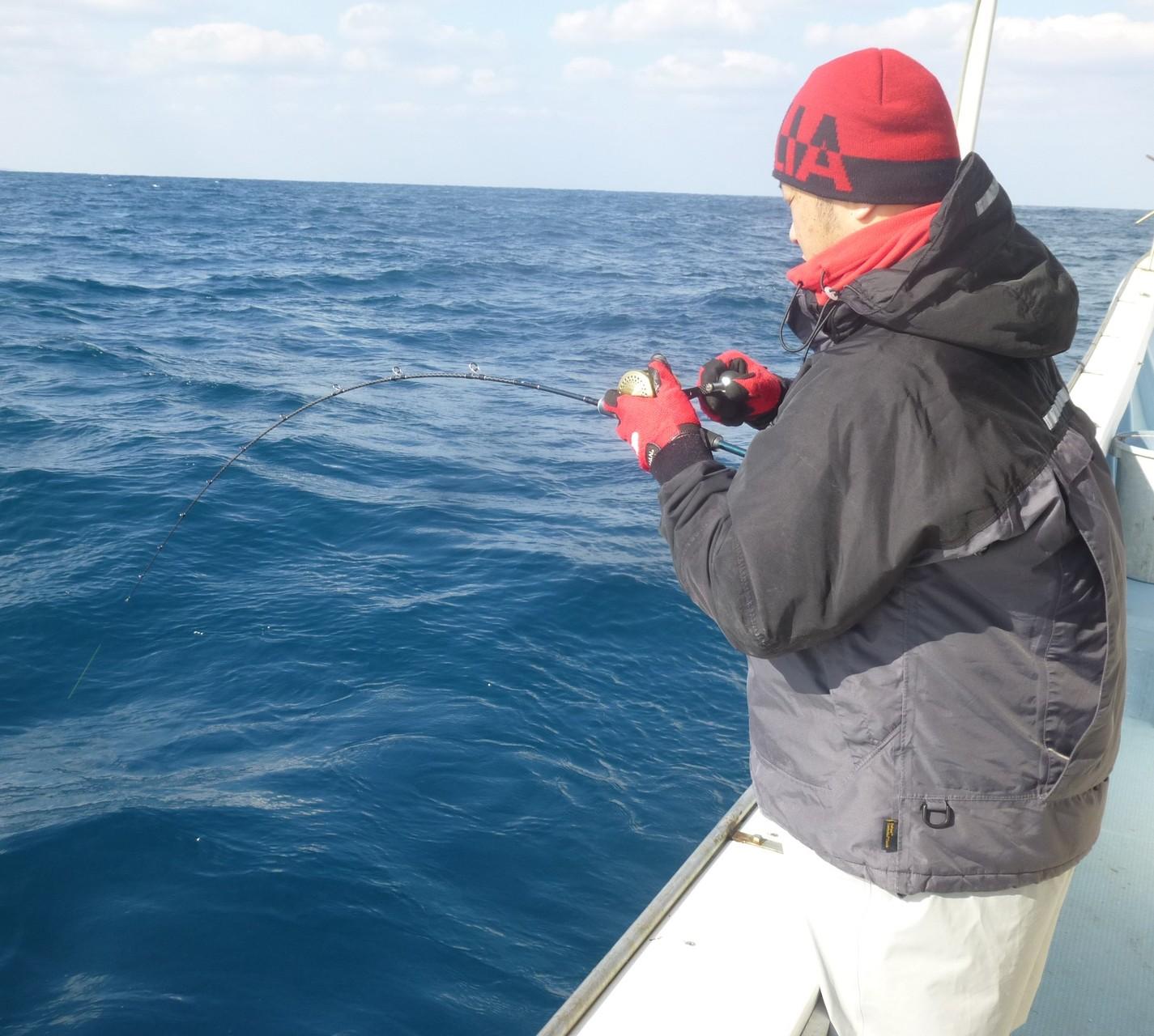 2月6日東側漁礁