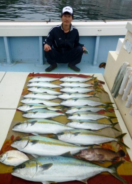 5月2日竹内さん午前中の今日の釣果です