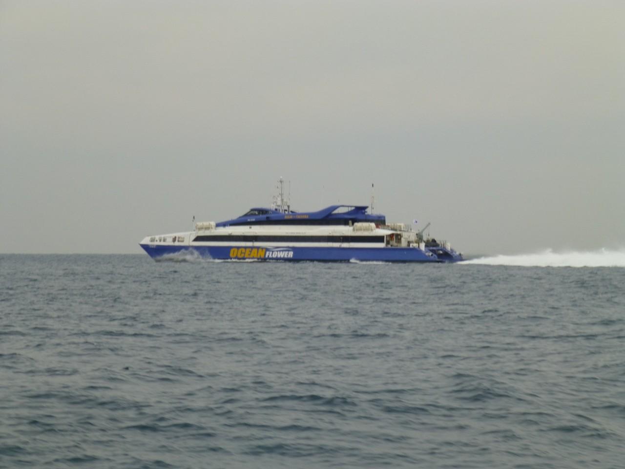 12月28日 本船帰る時間 ・ シーフラワー高速艇釜山へ帰る時間