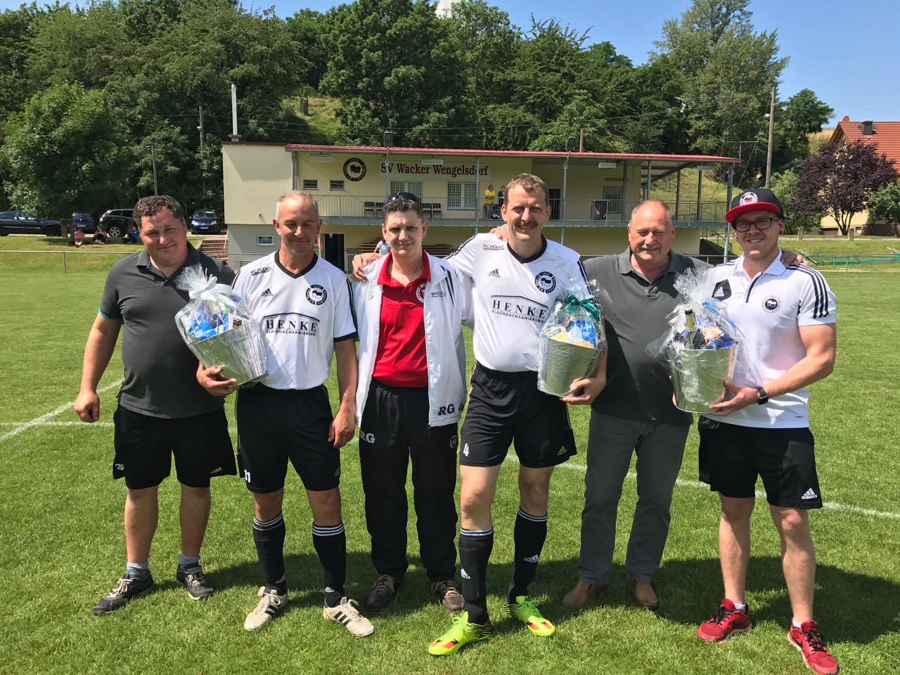 Verabschiedung Sportfreunde Rabitz, Taschinski, Oesterreich.