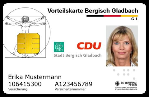 Vorteilskarte CDU & Stadt GL