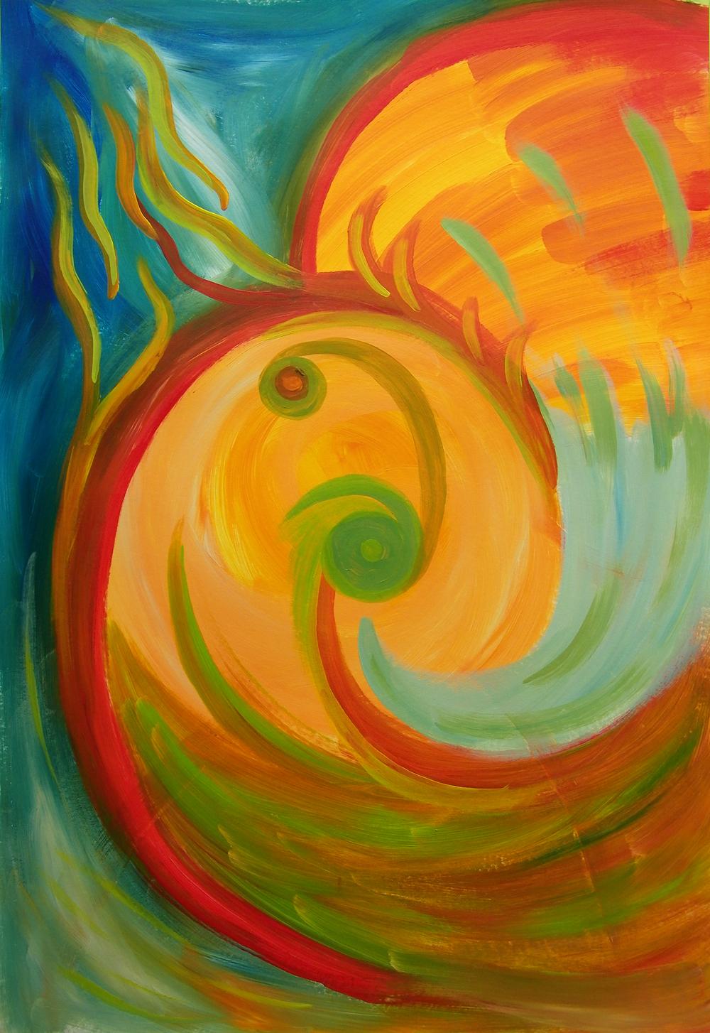 Intuïtief schilderij