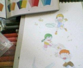 カラーイラストの描きかた7 がいちまこと