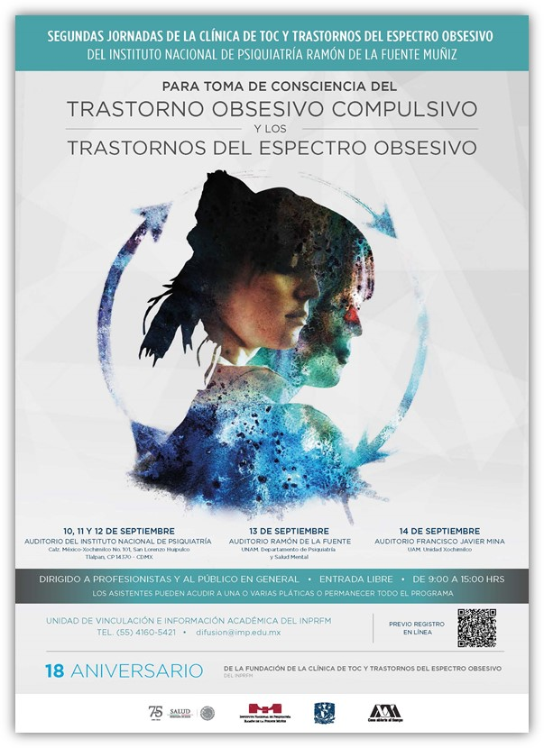 Entrada libre. Instituto Nacional de Psiquiatría. UNAM. UAM