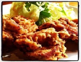 鶏唐揚げ ¥500