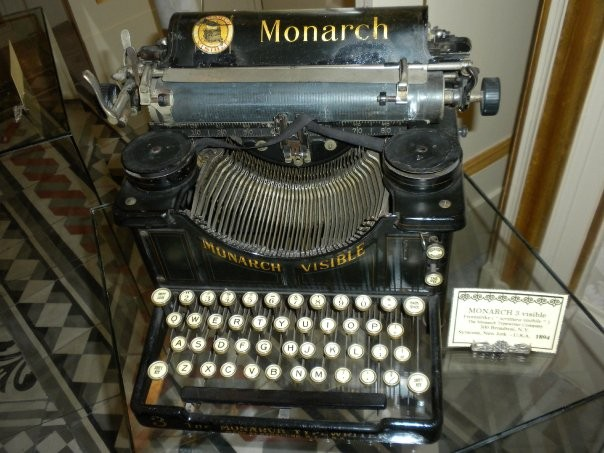 "MONARCH 3 visible Frontstrike ( "" scrittura visibile "" ) The Monarch Typewriter Company 300 Broadwai, N.Y. Syracuse, New Jork  - U.S.A.   1894"