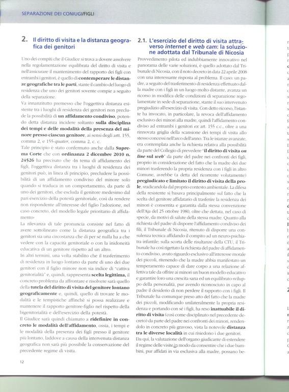 Officina del Diritto - Giuffrè - gennaio 2012