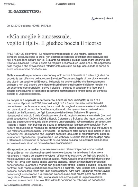 Il Gazzettino.it 29-12-2010