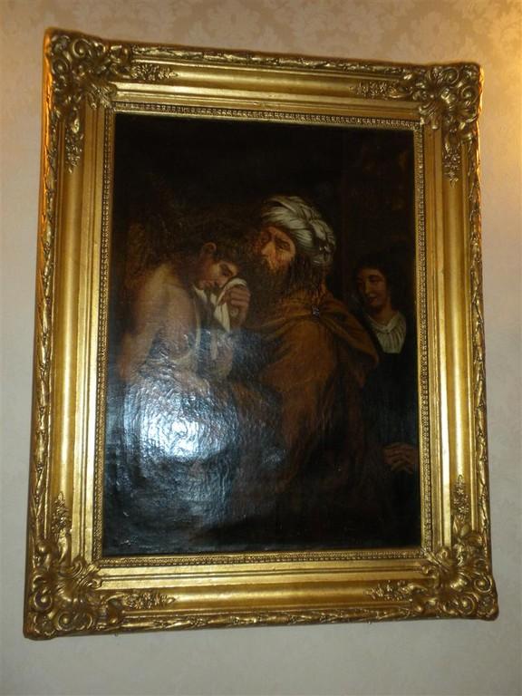 Il figliuol prodigo - Olio '700 -