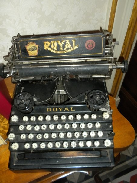 ROYAL 5 Royal Typewriter  Company, Room 66,  New Jork  - 1911