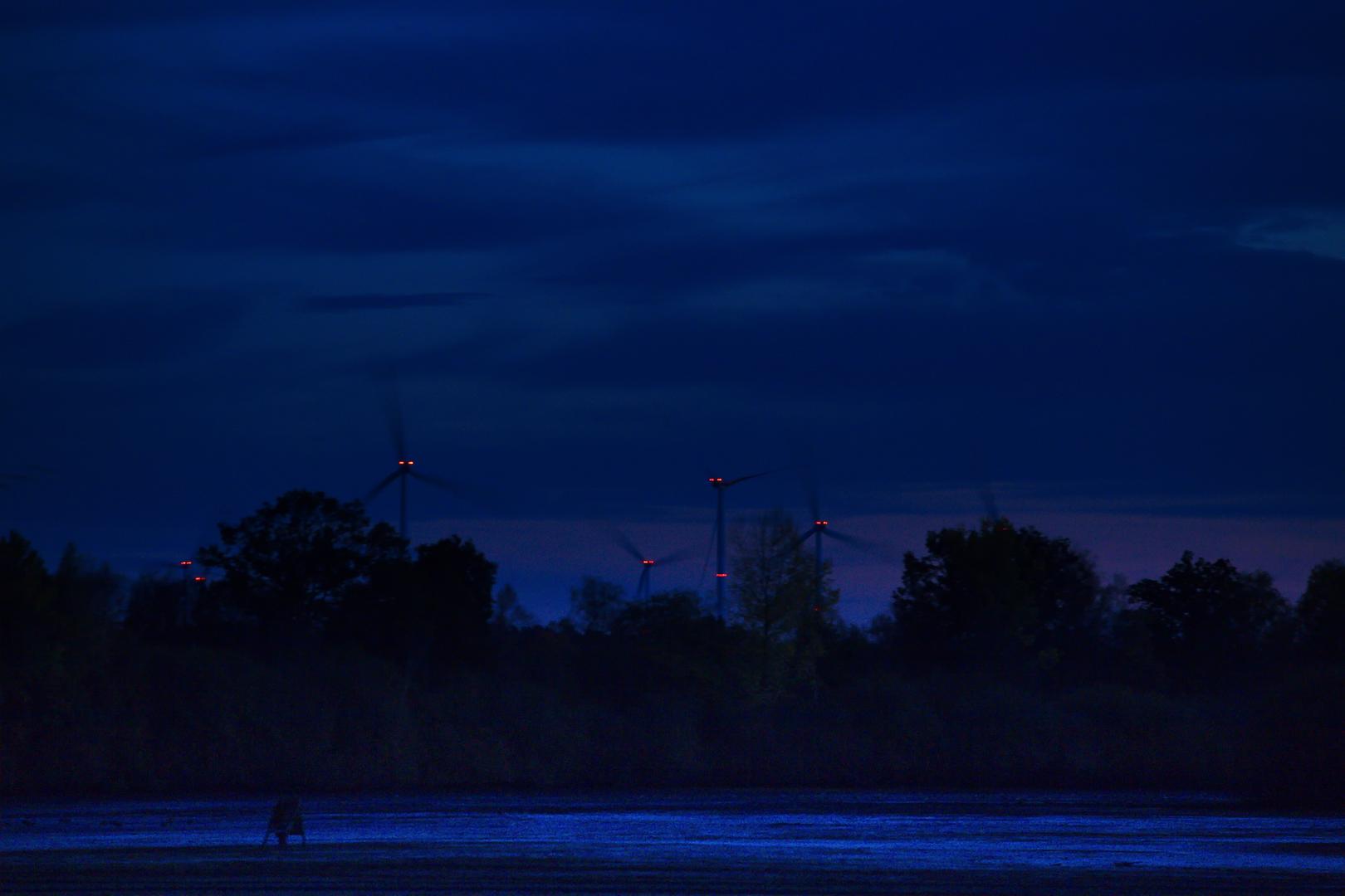 Mondaufgang im September 2020 in Merfeld.