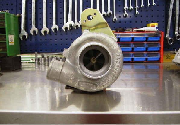Vorbereiten des Turboladers
