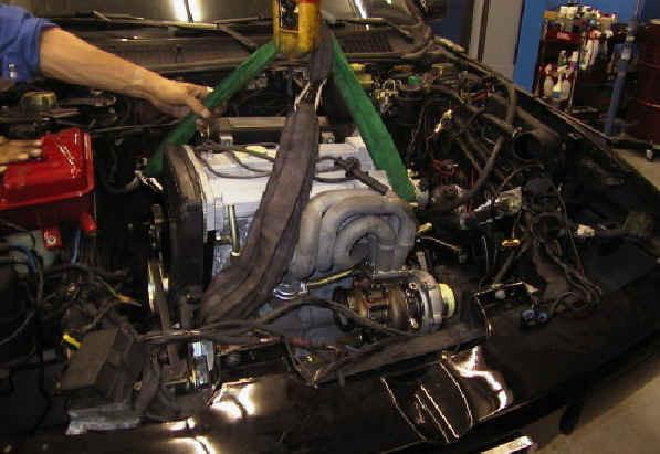 Einbau Motor