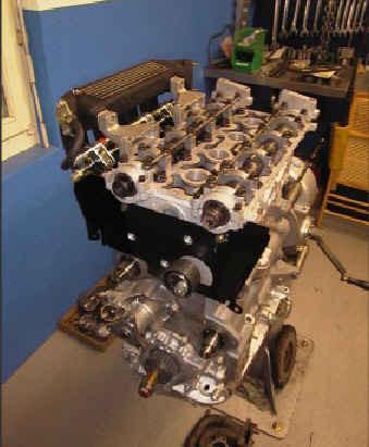 Komplettierung des Motors